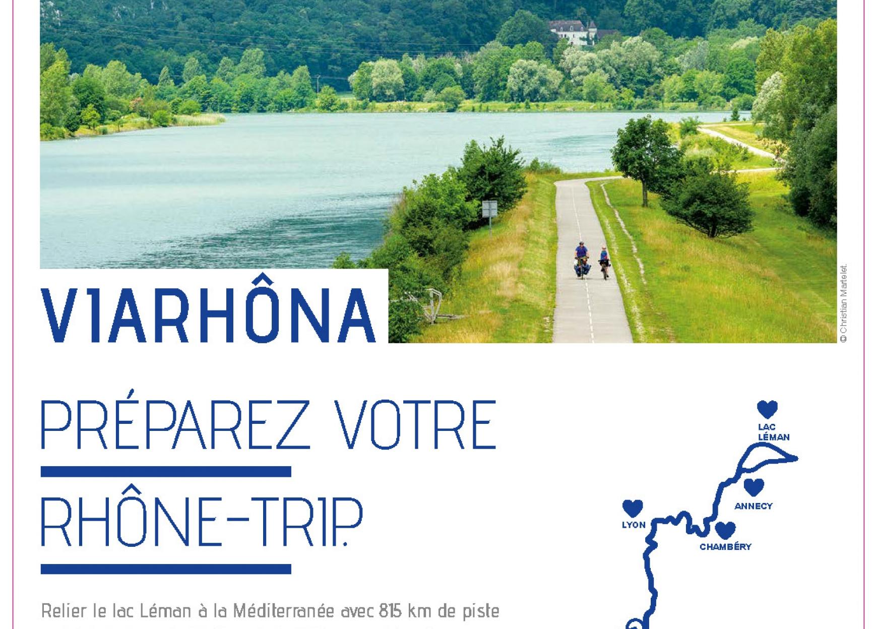 Via Rhona Piste Cyclable Du Lac Leman A La Mediterranee L Europe S Engage En France Le Portail Des Fonds Europeens