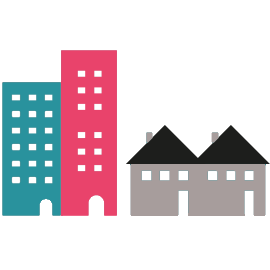 Illustration du type de territoire urbain