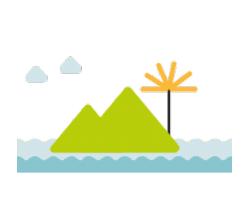 Illustration du type de territoire espaces insulaire