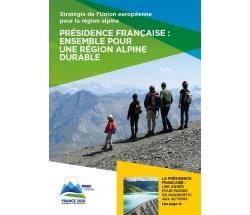 Couverture de la brochure Eusalp